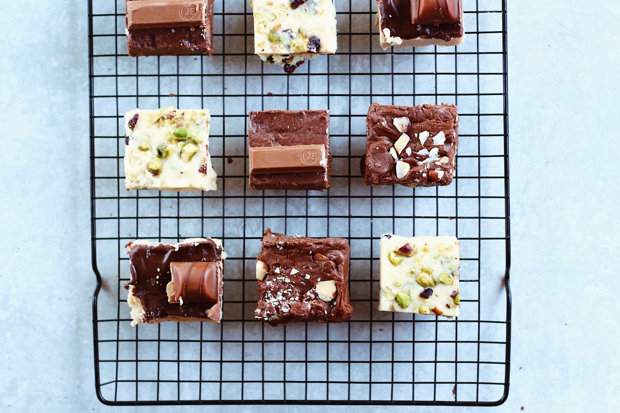 Different chocolate cakes