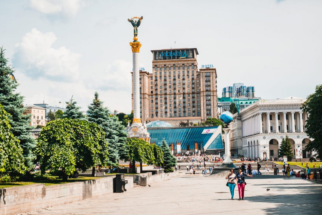 Kiev city and structures