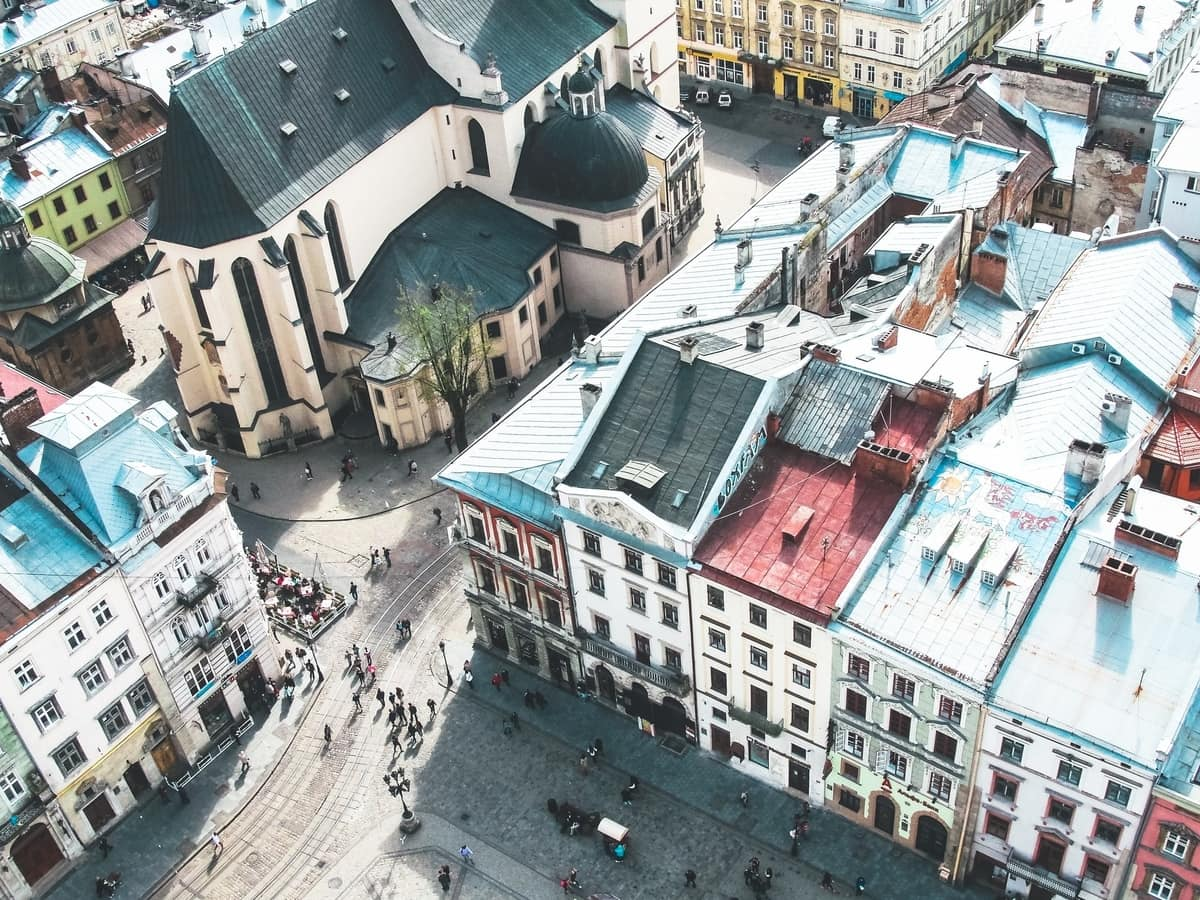 Lviv from Above